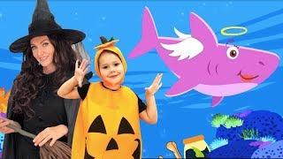 Halloween Baby Shark | Kids Songs and Nursery Rhymes | Halloween Songs