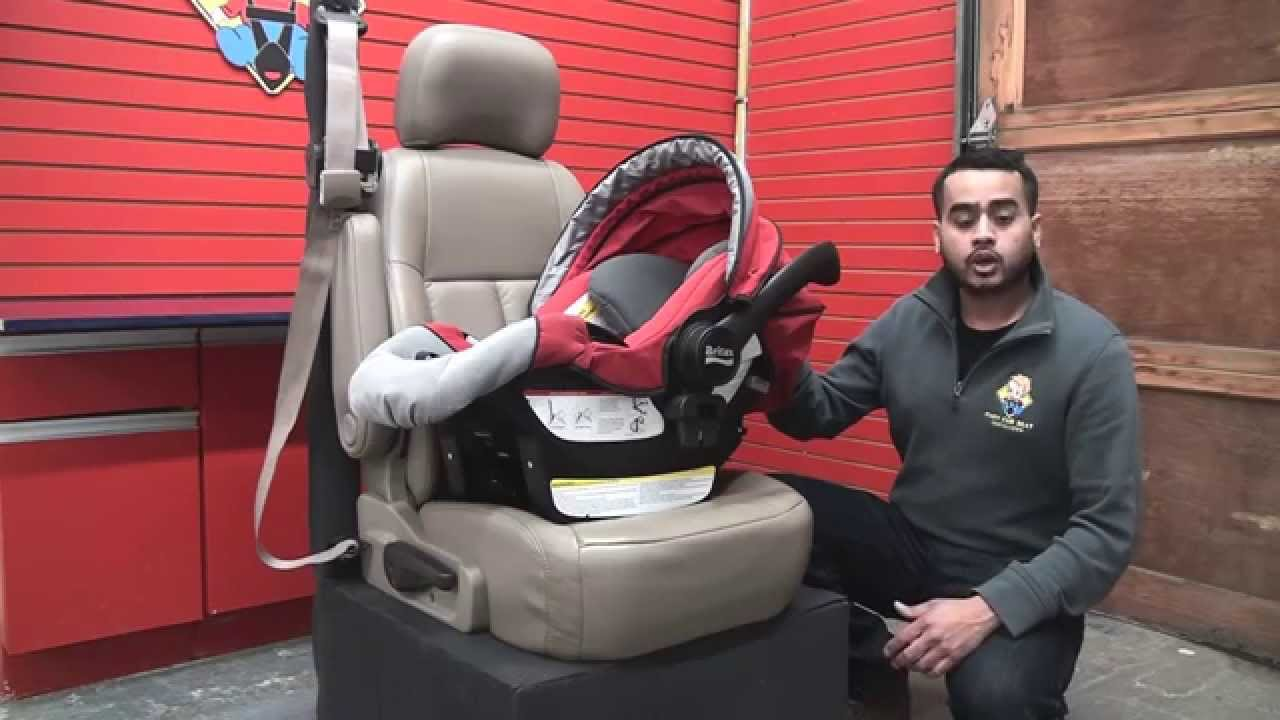 britax chaperone how to install the car seat without the base youtube. Black Bedroom Furniture Sets. Home Design Ideas