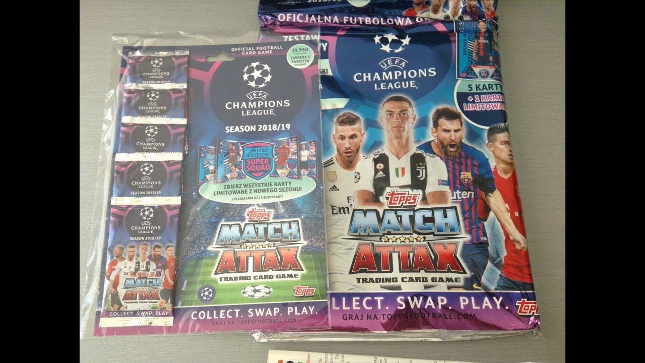 Topps Match Attax Champions League 18 19 Starter Pack Multi