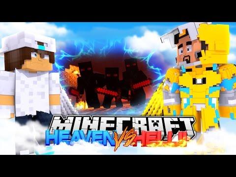 Minecraft Adventure - HEAVEN VS HELL : THE FINAL BATTLE