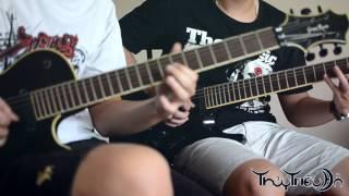 """Thủy Triều Đỏ - Nắng Mới (Guitar Cover ft """"Hồi Nước Ngầm"""") Tab + Backing Track"""