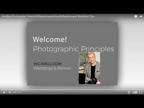 Wedding Photography Tutorial Bröllopsfotografering  Bröllopsfotograf Stockholm Tips