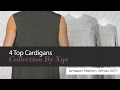 4 Top Cardigans Collection By Xqs Amazon Fashion, Winter 2017