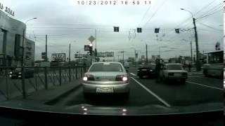 Беспредел на дороге в Санкт Петербурге
