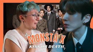몬스타엑스 (MONSTA X) - 'KISS OR DEATH' Official Music Video REAC…