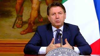 Coronavirus, conferenza stampa del Presidente Conte sul nuovo Dpcm