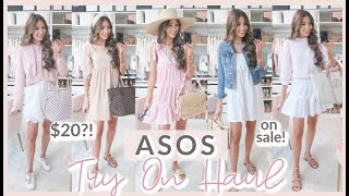 🌸ASOS TRY ON HAUL 2020!! SUMMER LOUNGEWEAR, CASUAL, + MORE! found the CUTEST pieces on sale!