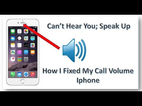 """Cant Hear When I Answer My Phone """"Can Only Hear When I put It On Speaker  Phone"""""""