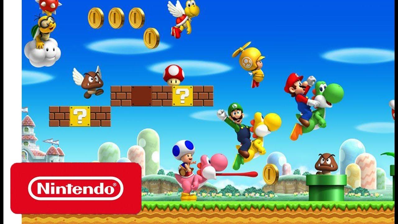 Bildergebnis für New Super Mario Bros.  switch