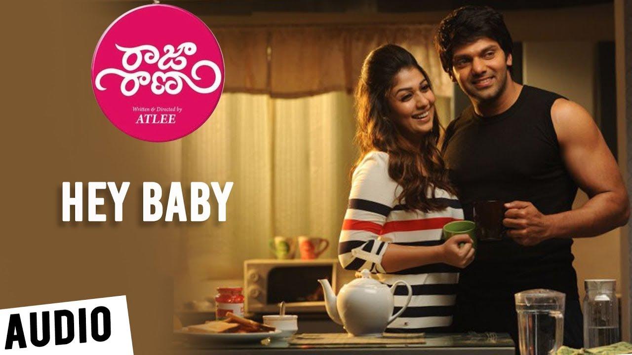 Raja Rani Songs - Telugu | Hey Baby Song | Aarya, Nayanthara, Jai, Nazriya | G.V. Prakash Kumar