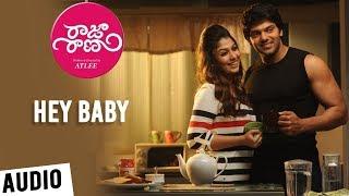 Raja Rani Songs Telugu | Hey Baby Song | Aarya, Nayanthara, Jai, Nazriya | G.V. Prakash Kumar