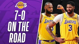 BEST PLAYS From The Lakers Franchise-Record 7-0 Start On The Road!