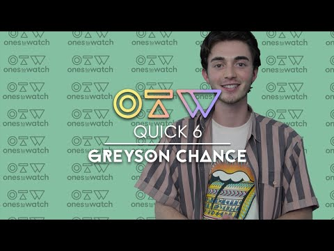 Greyson Chance On First Dates, Virgos, And Debut Album 'portraits'   Quick 6