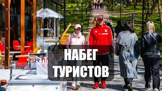 «Омела, цены и погода»: чем Калининград удивил туристов на праздниках