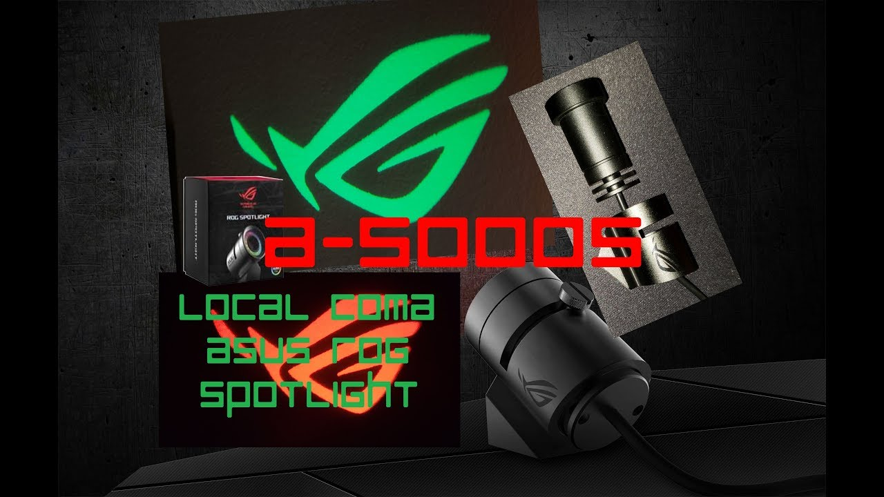 ASUS Republic of Gamers Spotlight Unboxing and Review (English)
