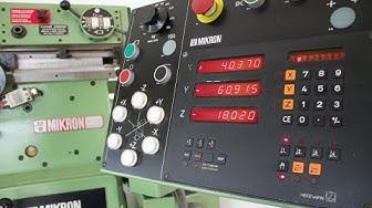 MIKRON WF 2 SA Universalfräsmaschine Heidenhain Maschinenalbert e.K. Werkzeuge-Maschinen-Transporte
