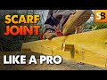 How to Create a Scarf Joint like a Pro!