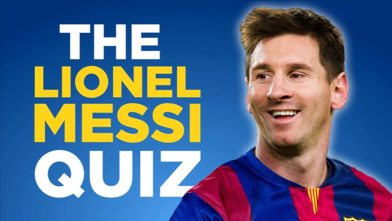 The Lionel Messi Quiz Interactive Youtube Game