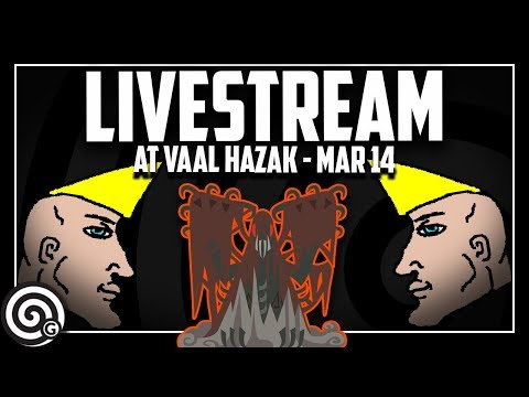 Total pushover Arch Tempered Vaal Hazak vs Chad Hunters | Monster Hunter World
