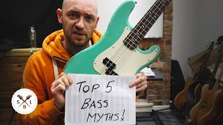 Top 5 myths about learning bass