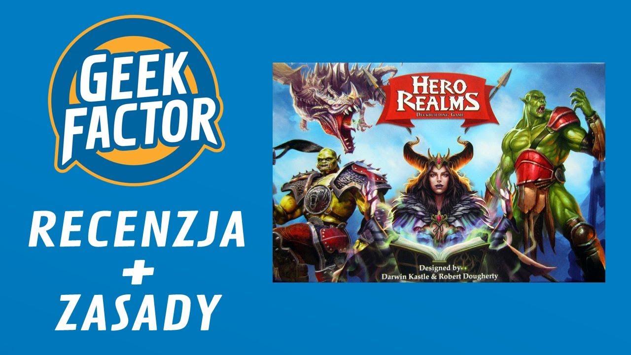 HERO REALMS   Recenzja i Wideo Instrukcja