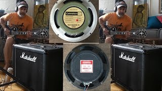 Combining Guitar Speakers - Greenback and Goodmans