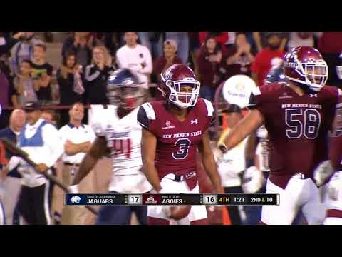Game Winning Drive - New Mexico State v. South Alabama - 2017 Dec 2