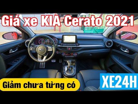 Giá xe KIA Cerato 2021 Giảm chưa từng có, Tổng lăn bánh tháng 4