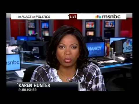 Karen Hunter Cry's Racism On MSNBC, Gets Smacked Down By Amanda Carpenter