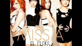 Miss A - Bad Girl Good Girl  (Audio)