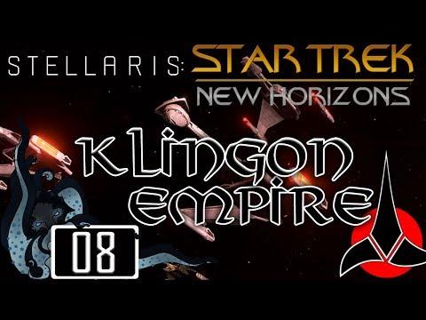 Federation - Star Trek: New Horizons (Stellaris Mod) - Klingon Empire - #08 - Insane - Let's Play