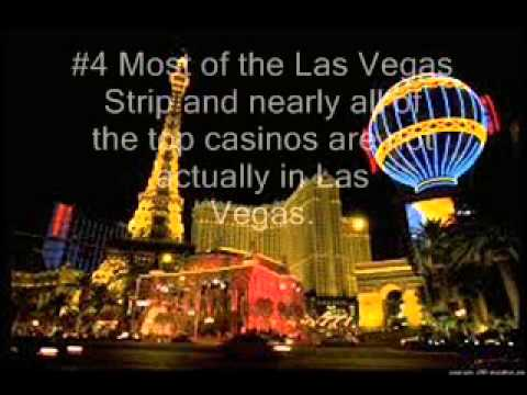 Top 10 Facts about Las Vegas - YouTube