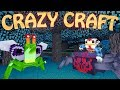 "Minecraft | CrazyCraft - OreSpawn Modded Survival Ep 21 - ""EVIL PLANTS MOD"""