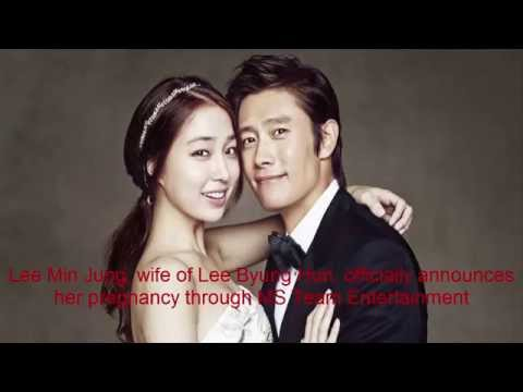 Lee Min Jung, wife of Lee Byung Hun, officially announces her pregnancy