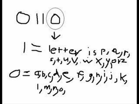 Binary to Letters