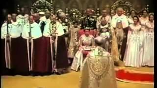 City of London & Queens Coronation Knights Templars Symbols Flags & Christianity in London today