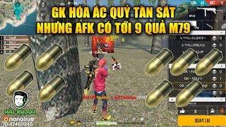 Free Fire | GK Hóa Ác Quỷ Nhưng AFK Có 9 Quả M79 - WAG Bo Đẹp Nhưng Địch Quá Đông | Rikaki Gaming