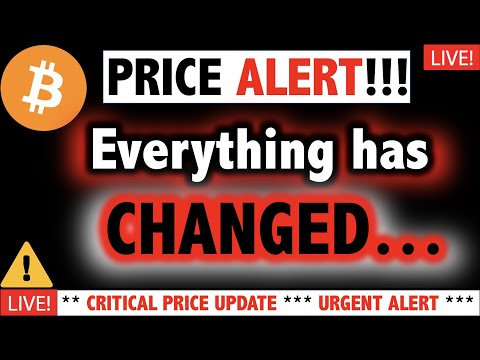 NO GOOD.. BITCOIN Warning Signs URGENT ALERT?!! ⚠️Crypto TA Today/ BTC Cryptocurrency Price News Now