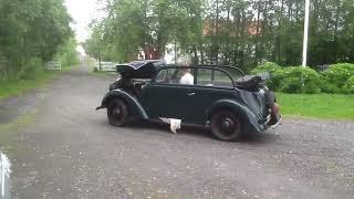 Opel Olympia cabrio coach 1936 first start
