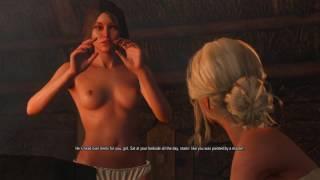 The Witcher 3: The Calm Before Storm (Ciri Sauna Scene)