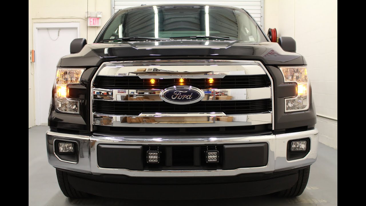 Starkey 2015 2017 Ford F 150 Raptor Style Grille Light Kit