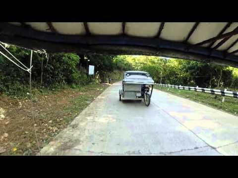 Trike to Nagkalit waterfall, El Nido