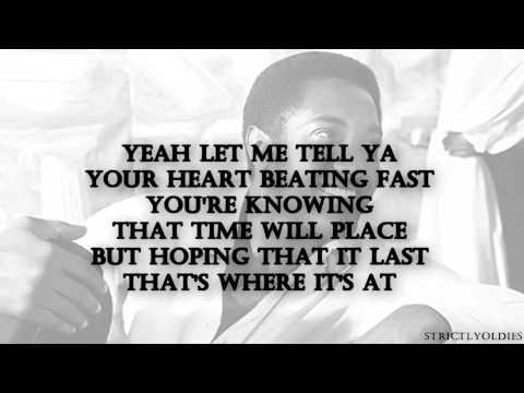 Sam Cooke That's Where It's At lyrics
