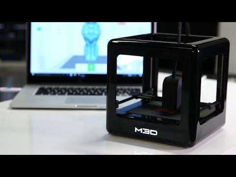 The M3D Micro 3D printer is a nice toy