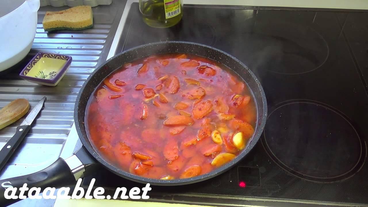 Cuisine tunisienne kemia salade de carotte au carvi - Youtube cuisine tunisienne ...