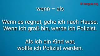 Typische Fehler bei der Deutsch B2 Prüfung mit Korrektur - Verben, Konjunktionen, Präpositionen