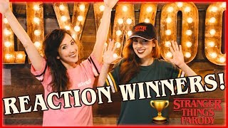 VIDEO REACTION WINNERS - STRANGER THINGS PARODY!