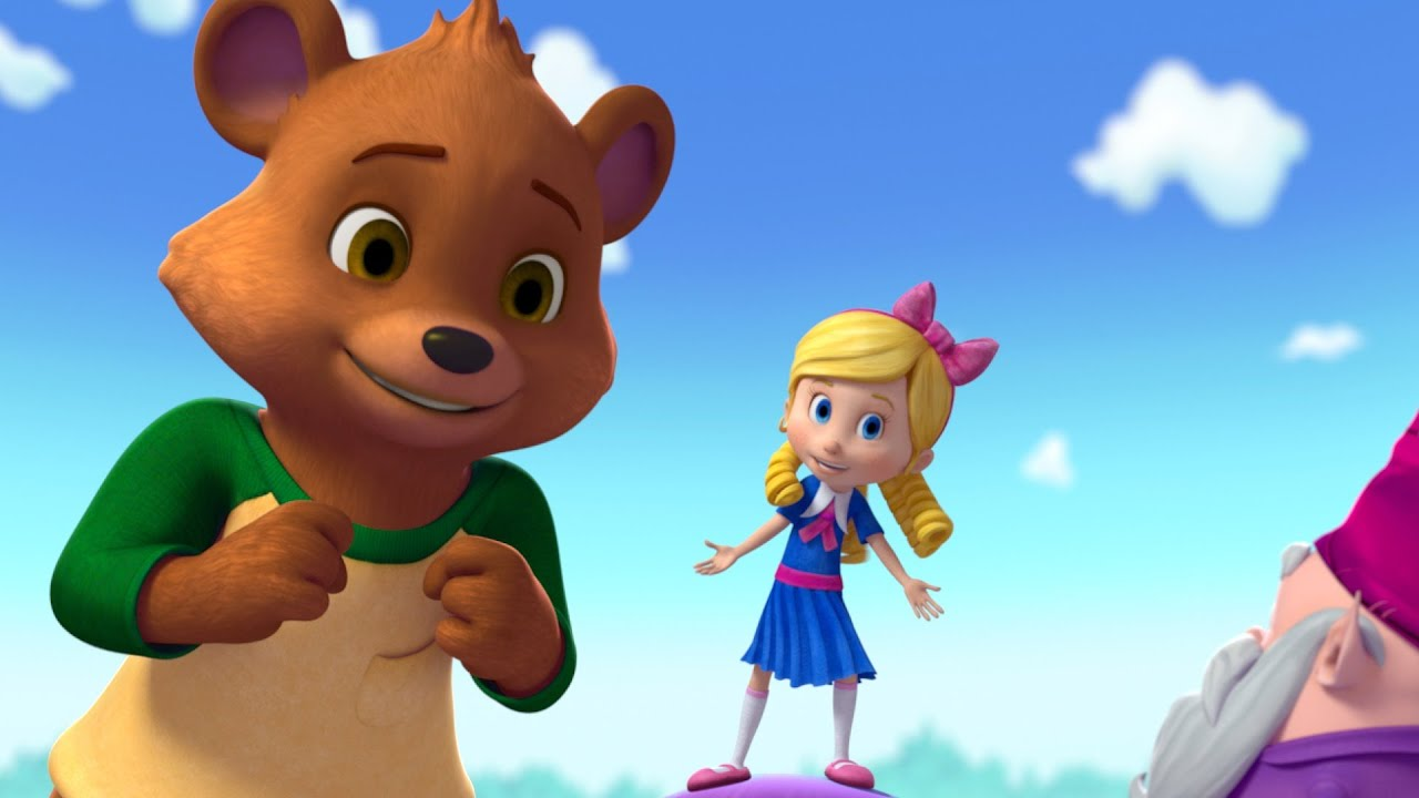 It is a picture of Impertinent Pictures of Goldie and Bear
