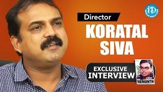 Director Koratala Siva Exclusive Interview || Talking Movies with iDream #10