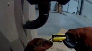 Обварка выходов на пожарный шкаф(В этом видео я обвариваю резьбы идущие не пожарные шкафы., 2016-02-03T17:20:05.000Z)
